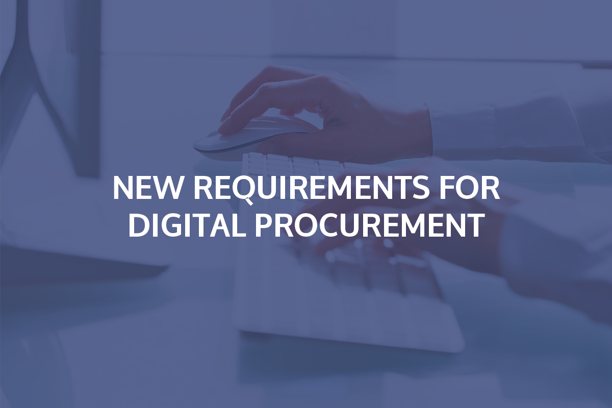 Digital procurement
