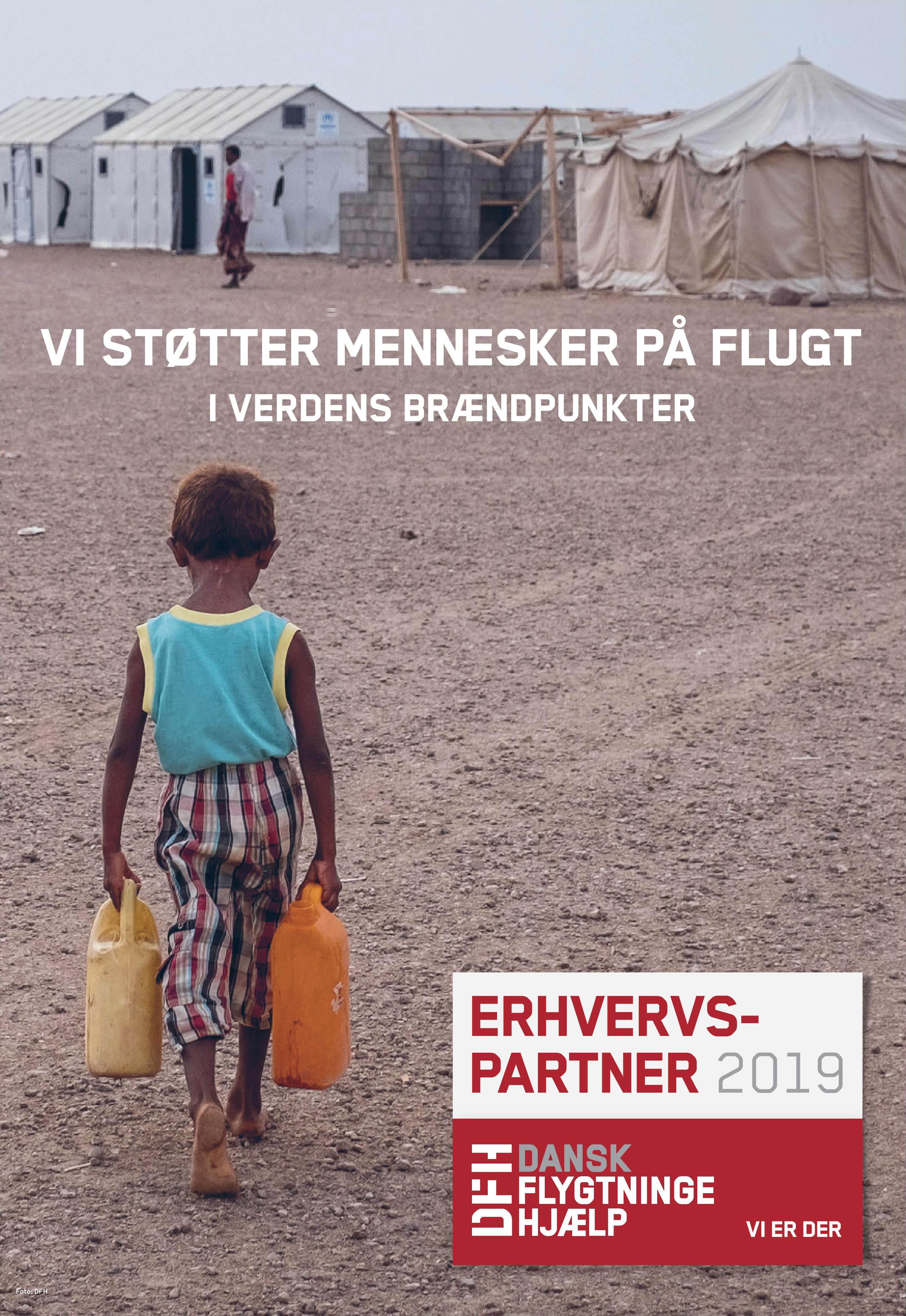 mySupply støtter Dansk Flytningehjælps arbejde